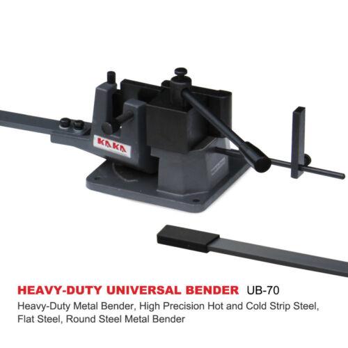 KAKAIND UB-70 Universal Bender, 2-3/4-In Cast-Iron Hot & Cold  Metal Bar Bender