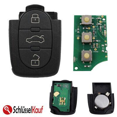 Schlüssel Klappschlüssel Gehäuse für Audi A3 8P A4 8E B6 B7 A6 4F C6 TT Q3 Q5 Q7