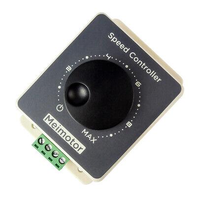 Pwm Dc Brush Motor Speed Regulator 12v 24v 48v 20a Waterproof Controller 10-60v