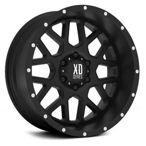 "BLOWOUT! 22x9.5 XD820 ""Grenade"" $1000/SET OF 4 WHEELS!! CHEVY/GMC 1500 ALL YEARS!"