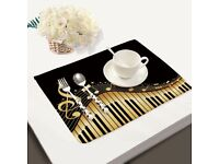 Musical Note Placemats