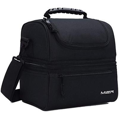 Lunch Bags MIER Adult Box Insulated Large Cooler Tote For Me