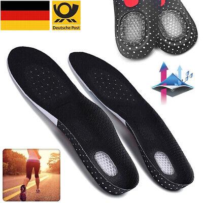 Gel Einlegesohlen Orthopädische Schuheinlage Fußbett Fußpolster Schmerzlinderung