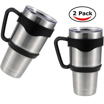 2x Handle for 30 Oz RTIC YETI Rambler Tumbler coffee cup travel Drinkware holder](Travel Cups)