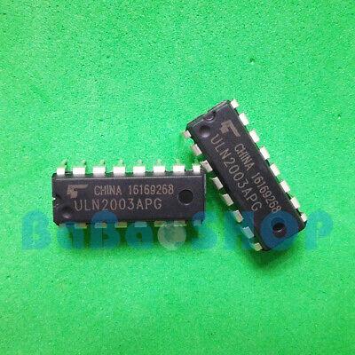 10pcs New Uln2003apg Toshiba Uln2003 Uln2003an Array-7 Transistor Dip-16