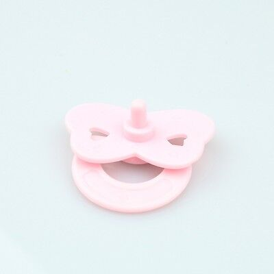 Accessories Pink Tiny Pacifier Dummy Fit Reborn Baby Dolls NOT MAGNET Doll gifts