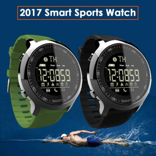 Fitness Tracker Waterproof Bluetooth Smart Watch Sport Pedom