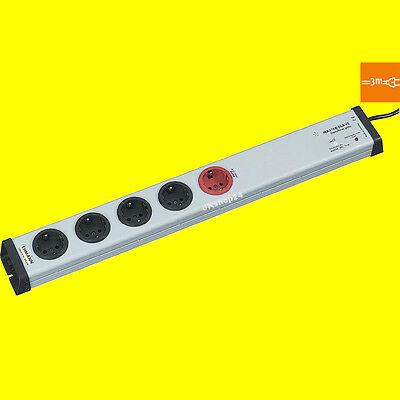 MasterSlave-STECKDOSENLEISTE m.Überspannungsschutz+Netz-Filter 0213x00052303 /3m