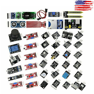 45 In 1 Sensor Module Starter Set Kit For Arduino Raspberry Pi Education Usa