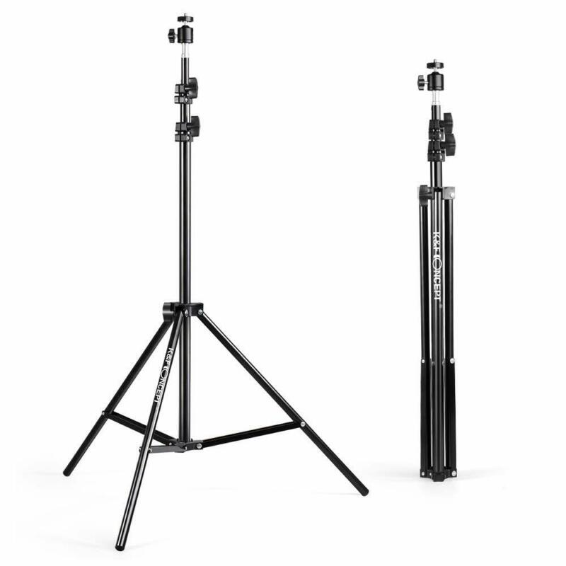 """K&F Concept 2x 78"""" Photography Light Stand For Camera Flash Spotlight Softbox US"""