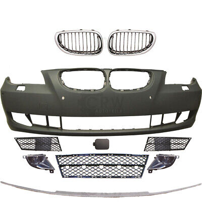 Kit Parachoques Delantero+Niebla+Accesorio BMW 5er E60 E61 Año Fab. 07-10 para