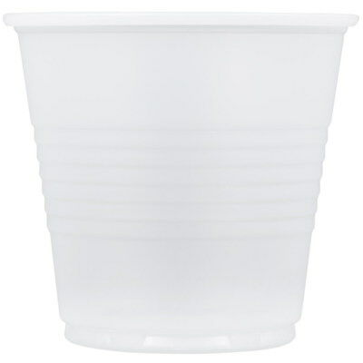 Dart Conex Round Polystyrene Cold Cup Translucent 5 oz. | - Dart Conex Clear Cup