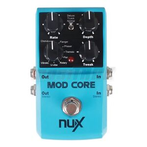 NUX Guitar Effect Pedals Time Core/ MOD Core/ Drive Core/ Metal Core True Bypass