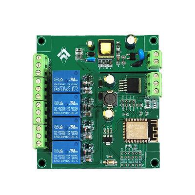 Esp8266 Acdc Wifi 4 Channels Relay Module Esp-12f Development Board