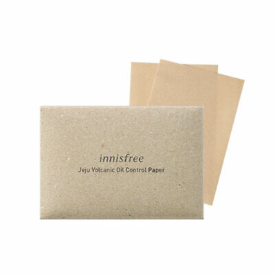 INNISFREE Jeju Volcanic Oil Control Paper - 1pack (50pcs) + Gift