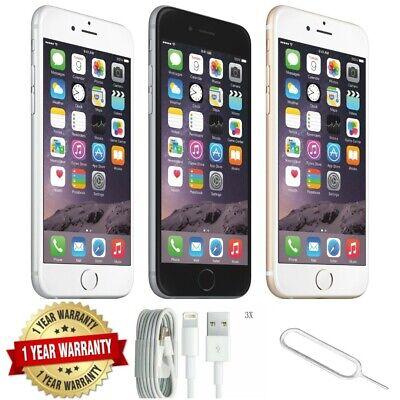 Apple iPhone 6 -16GB/32GB/64GB/128GB Unlocked- All Colours Unlocked Grades *AABC