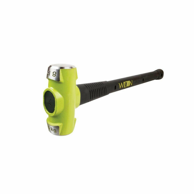 Wilton 20836 Bash 8 Pound Head Sledge Hammer With 36 Inch Unbreakable Handle