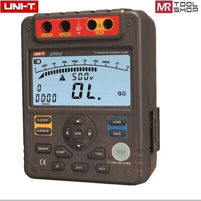 Uni-t Ut512 Megohmmeter Digital Insulation Tester Megger Ohm 1m-100g Pidar Te