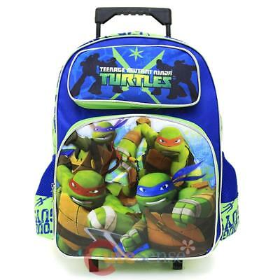 Große Rollen Rucksack (Tmnt Ninja Turtles Schule Roller Rucksack 16