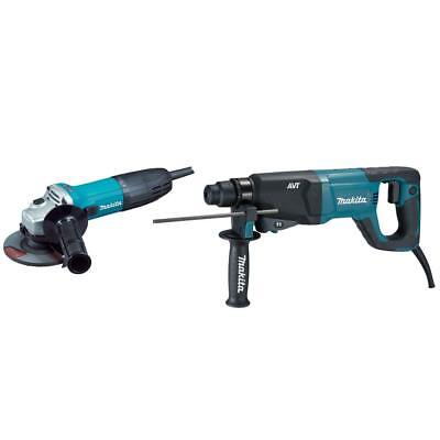 New Makita Hr2621x2 1 Sds Rotary Hammer 4-12 Grinder