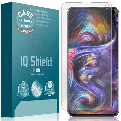 - 2x IQ Shield Anti-Glare Screen Protector for Galaxy S10 (6.1