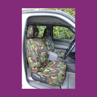 Titan Waterproof Car Front Seat Covers to fit Ford Ranger 2002 Blue Onwards