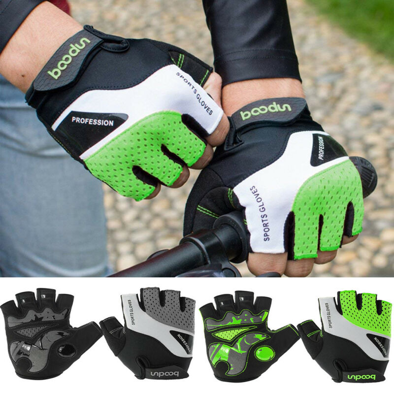 cycling gloves mountain bike padded shock absorbing