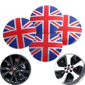 4x 56mm Universal England Wheel Center Hub Cap Emblem Badge Decal sticker