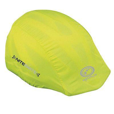 Optimum Sports Nitebrite High Visibility Waterproof Elastic Front Helmet Cover