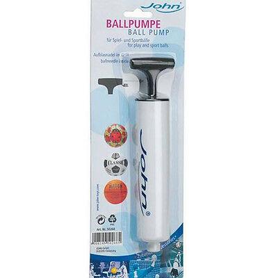John Ballpumpe klein für alle gängigen Bälle,  Ball Pumpe
