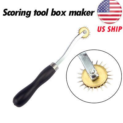 1pc Black Scoring Tool Box Maker Make Your Own Box Cardboard Carton Resizer Tool