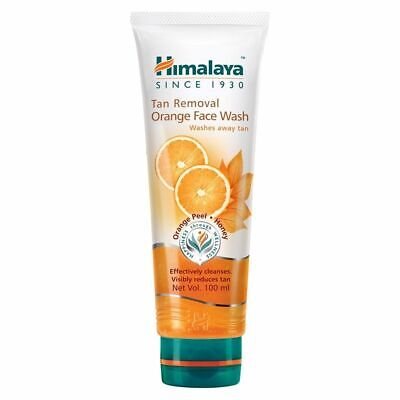 Himalaya Herbal Tan Removal Orange natural formula clean 100ml