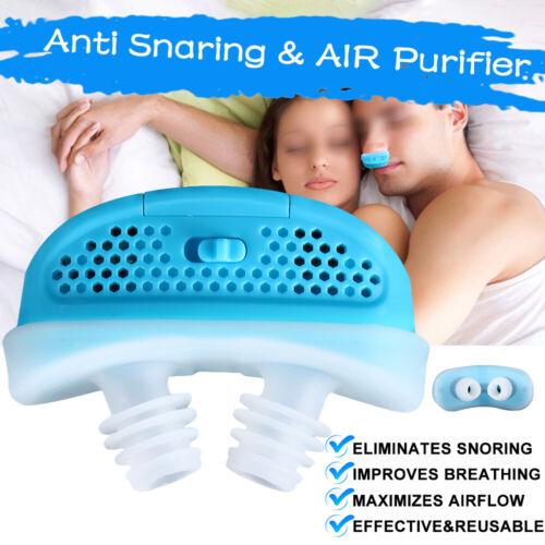 Electric Mini CPAP Anti Snoring Device For Sleep Apnea Stop
