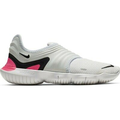 BNIB Womens Nike Free RN Flyknit 3.0 White Trainers Size UK 4