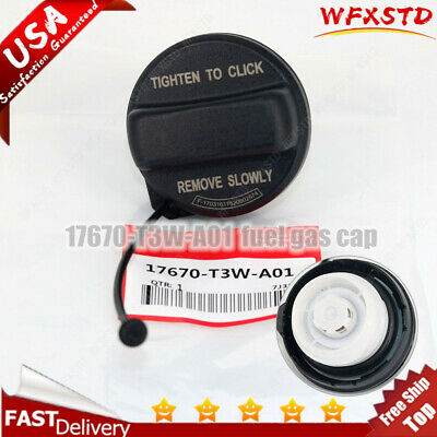 Gas Fuel Filler Tank Cap Genuine OEM 17670-T3W-A01 for Acura Honda Accord Civic