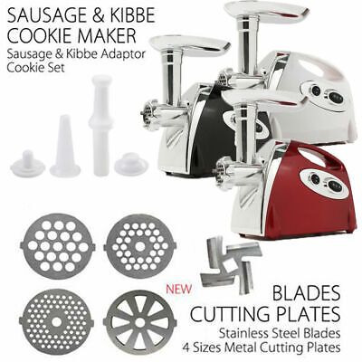 Electric Meat Grinder Home Kitchen Industrial Stainless Steel Sausage Maker