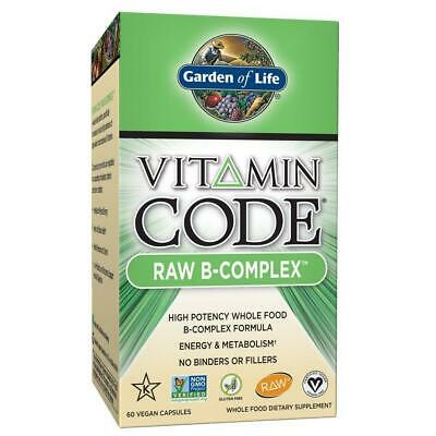 Garden of Life B Vitamin - Vitamin Code Raw B Complex Whole