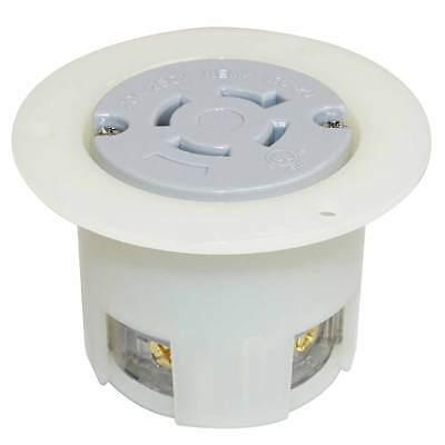 Nema L16-20r 3 Pole 4w 20a 480v Heavy Duty Twist Lock Receptacle Flange Outlet