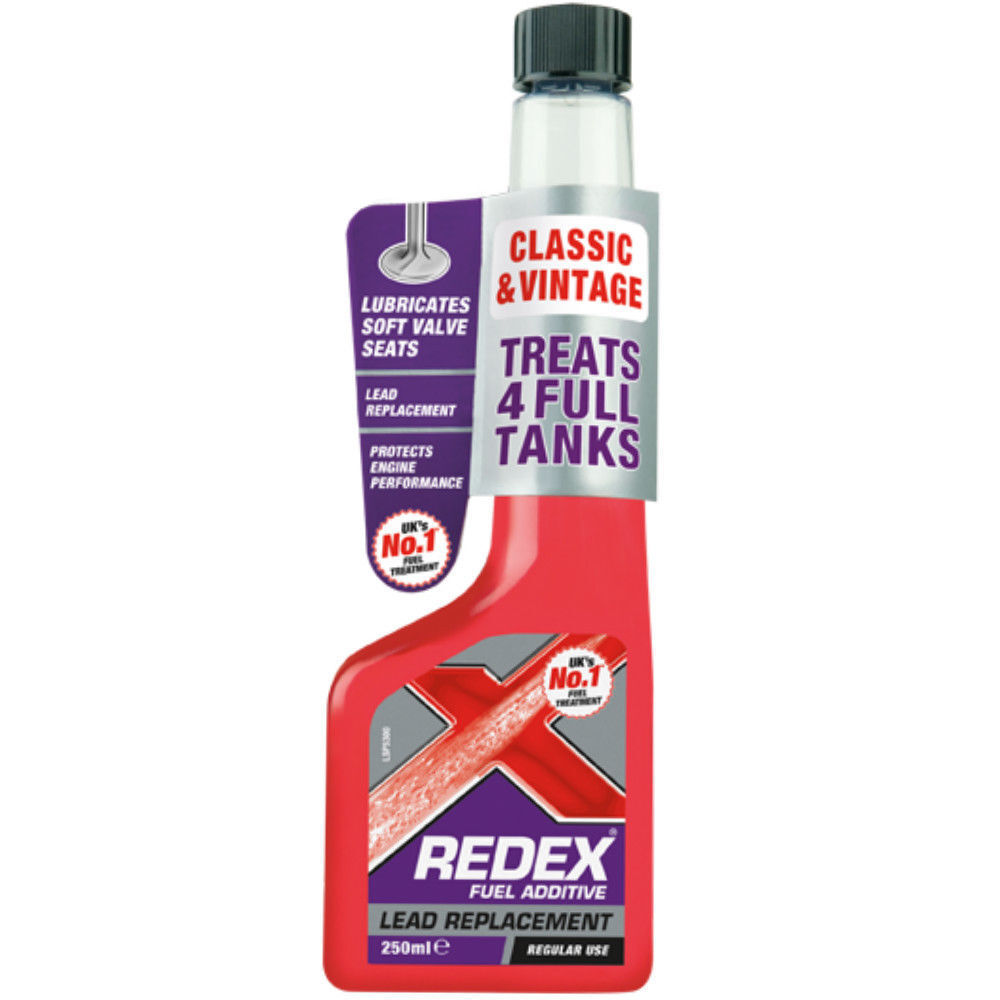REDEX LEAD REPLACEMENT LEADED PETROL ADDITIVE CAR TANK SUBSTITUTE 250ml