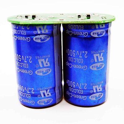 2.7v 500f Sawmha Green-cap Super Capacitor Wprotection Plate 35x60 E228 Yx