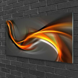 Print on Glass Wall art 100x50 Picture Image Abstract Art