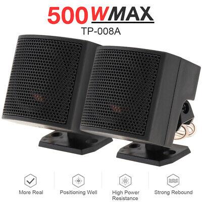 2Pcs 500W High-End Voice Box Car Loudspeaker Car Audio Dedicated Speaker