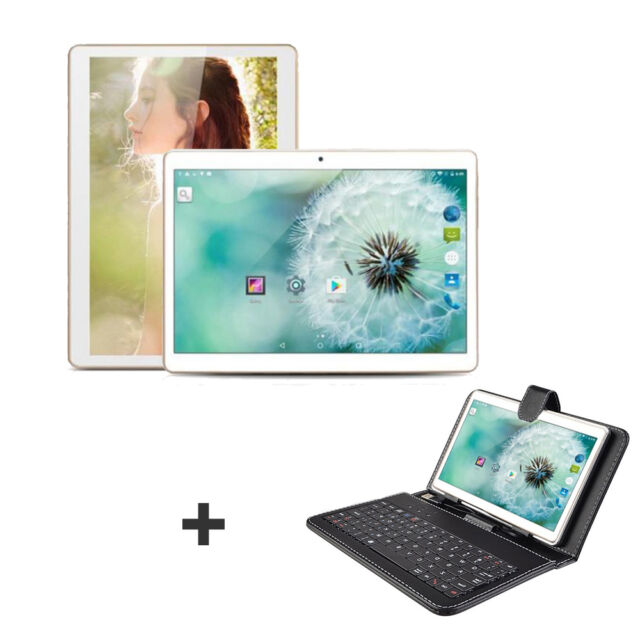 """10.1"""" Android 4.4 PC Tablet 4-Core WIFI 16GB 1280*800 IPS Pad + Keyboard Case"""