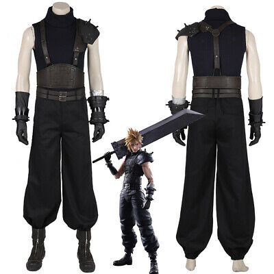 Final Fantasy VII Remake Cloud Strife Suit Cosplay - Final Fantasy Vii Cloud Strife Cosplay Kostüm