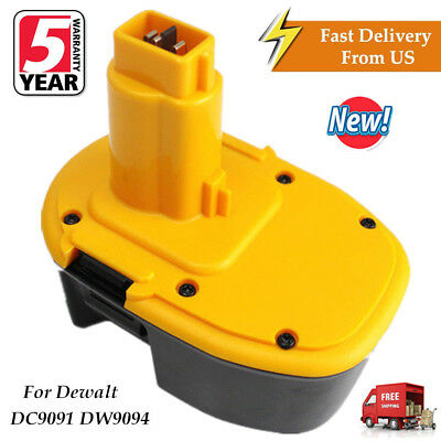 New For Dewalt Dc9091 14 4V Xrp Battery Dw9091 Dw9094 Ni Cd Extended Power Tools