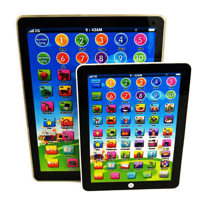 Kids Children Tablet IPAD Educational Learning Toys Gift For Girls Boys Baby USA