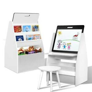 Kid's Desk Combined Easel/Bookcase/Blackboard Stool Hours of Fun Kings Beach Caloundra Area Preview