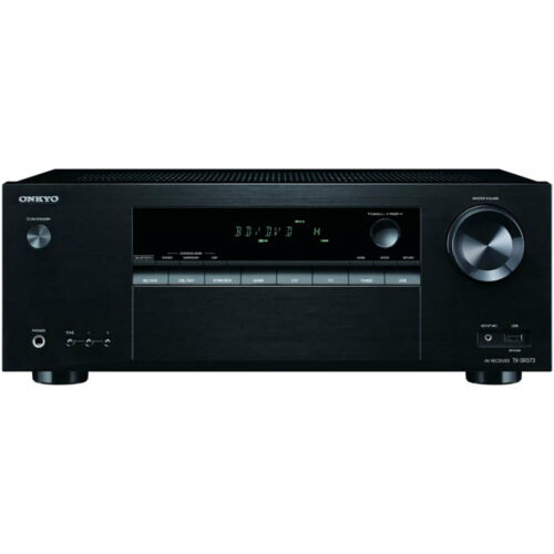 Onkyo 5.2-Channel A/V Receiver | 4 x HDMI | Front USB | Blue