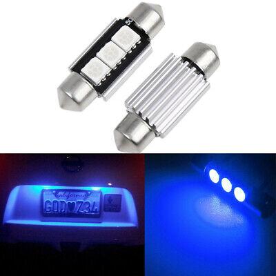 2X12V 36mm für Mercedes-Benz Lampe 5W Birne Kennzeichenbeleuchtung 6000k Weiß