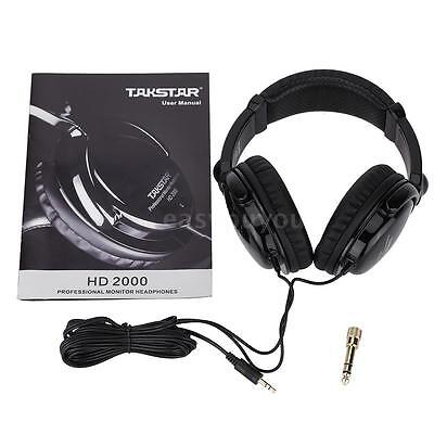 Takstar HD2000 Headphones Audio Mixing Studio Recording & DJ